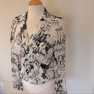 Coasta Blanca bodysuit blouse